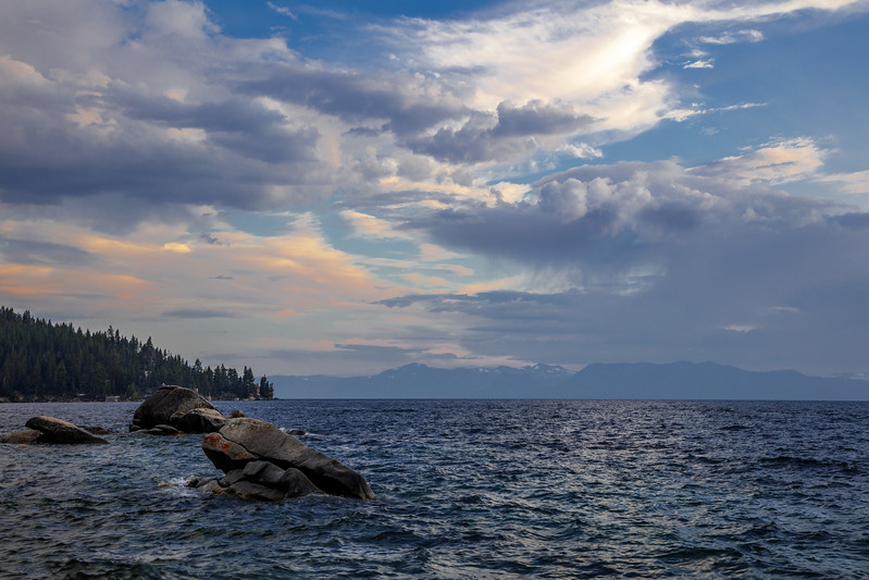 Eastern Tahoe View