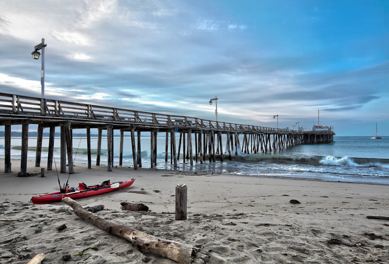 Capitola Pier Morning 1
