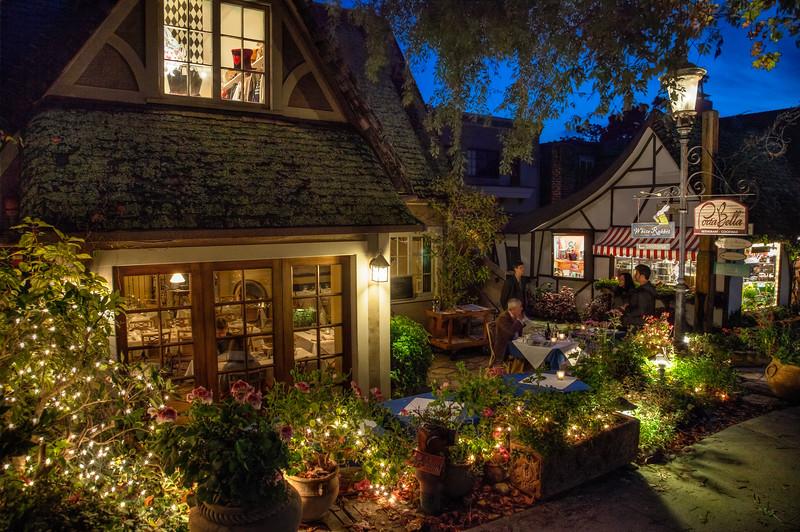 Dinner in Carmel