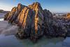 Morning Light on Beach Rock
