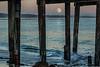 Capitola Pier Moonrise 2