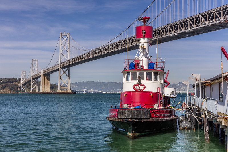 Tugboat and the Bay Bridge 1