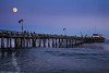 Capitola Pier Moonrise 1