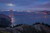 Golden Gate Bridge Moonlight
