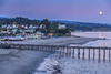 Moonrise Over Capitola
