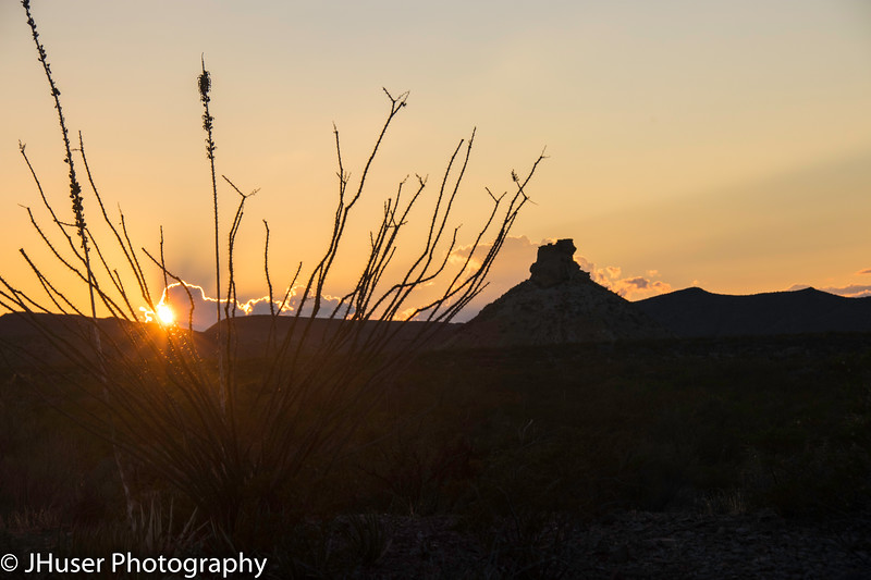 Sunset in Big Bend National Park