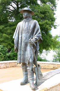 Statue of Stevie Ray Vaughn