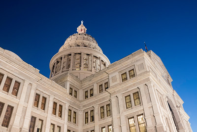 Texas State Capitol at dawn
