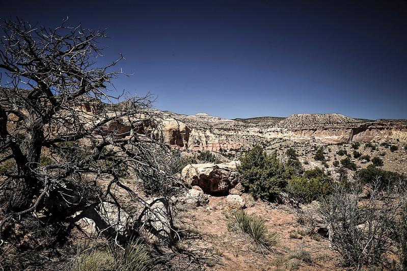 Entrance to Dark Canyon