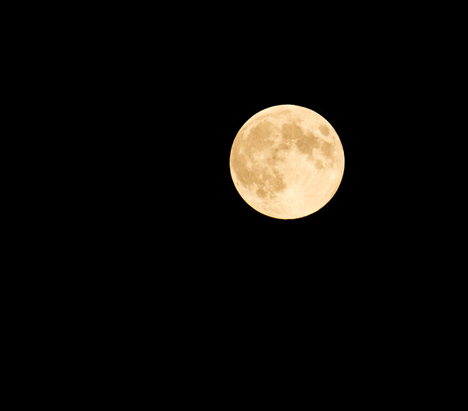 Super Moon, fall 2016