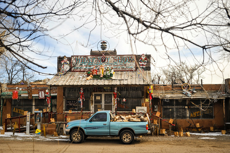 What Not Shop, Cerillos, NM.<br /> Honorable mention New Mexico magazine contest