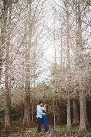Kelly + Jeremy   Tree Tops Park Engagement