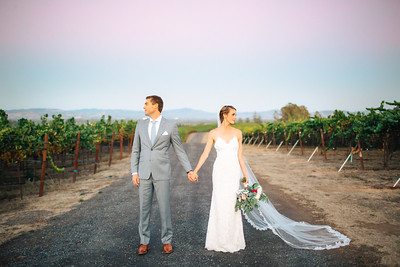 Kelly + Willie | Vine Hill House | Wine Country Wedding