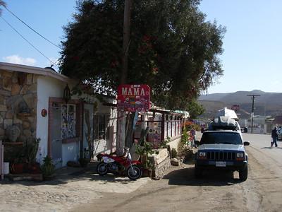 Mama Espinosa's restaurant El Rosario, Mexico