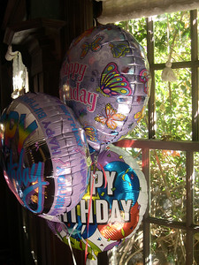 Kelly's first birthday party decorationsOakland CA USA
