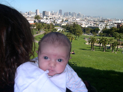 Patty and Kelly at Dolores Park