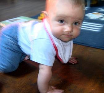 Kelly on floor