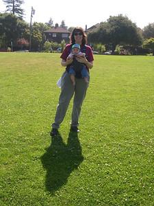 Kelly and Patty at Willard Park
