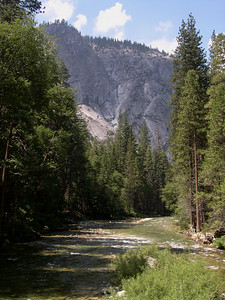 Paradise Valley, South Fork Kings river (from bridge at Bubbs creak)