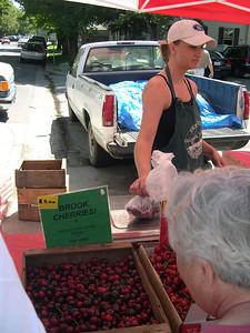 Davis farmer's market