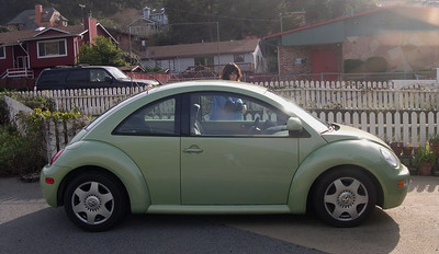 Chris' VW bug