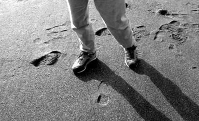 Peter's feet, Pacifica beach