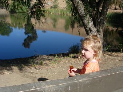Kelly at Jordon Pond
