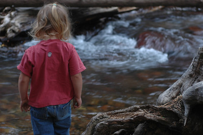 Kelly at the river