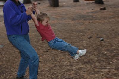 Kelly swinging