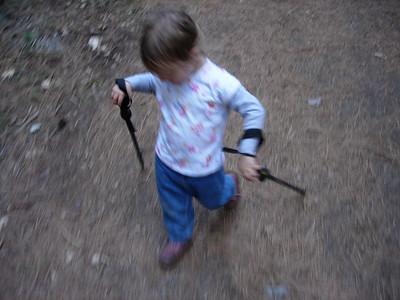 Kelly hiking