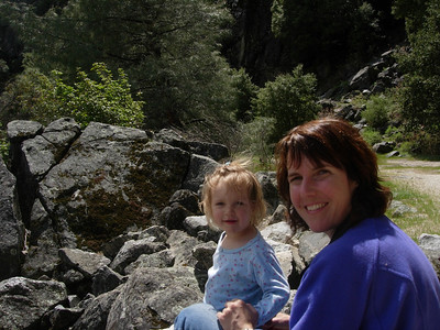 Kelly and Patty at Hetch Hetchy