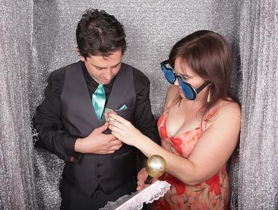 Kelly & Jamie's Wedding Photobooth Photos