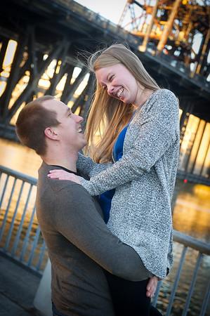 Kelsie & Chris Engagement, Waterfront Park