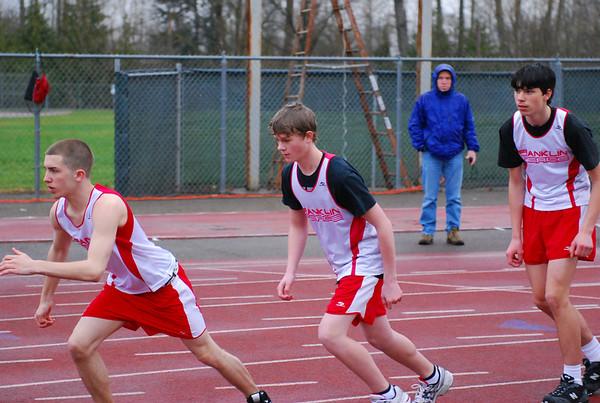 Franklin Pierce Track 2008