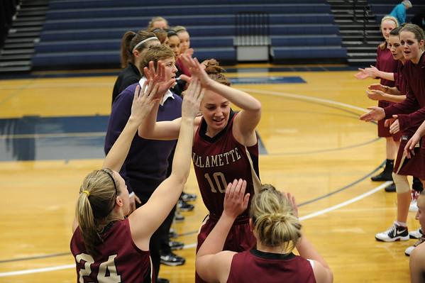Kelsey Willamette University BasketBall