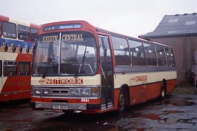 KCB 2581 Kirkintilloch Depot Mar 95