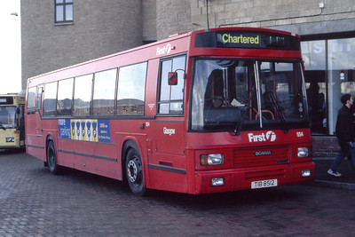 KCB_First Glasgow No 2 SS4 Stirling Bus Station Feb 99