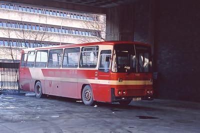 KCB 1288 Anderston Bus Station Glasgow Feb 91