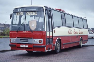 KCB 3216 Airdrie Bus Station Nov 91