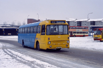 KCB 1412 Buchanan Bus Station Glasgow Feb 91