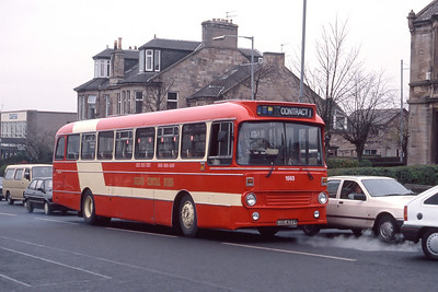 KCB 1563 Hamilton Road Motherwell Dec 90