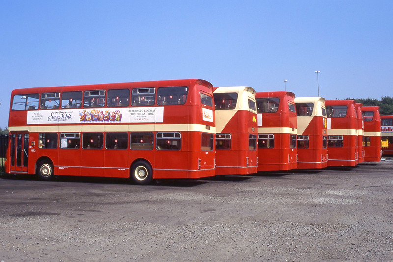 KCB 1972 plus line up Cumbernauld Depot Aug 94