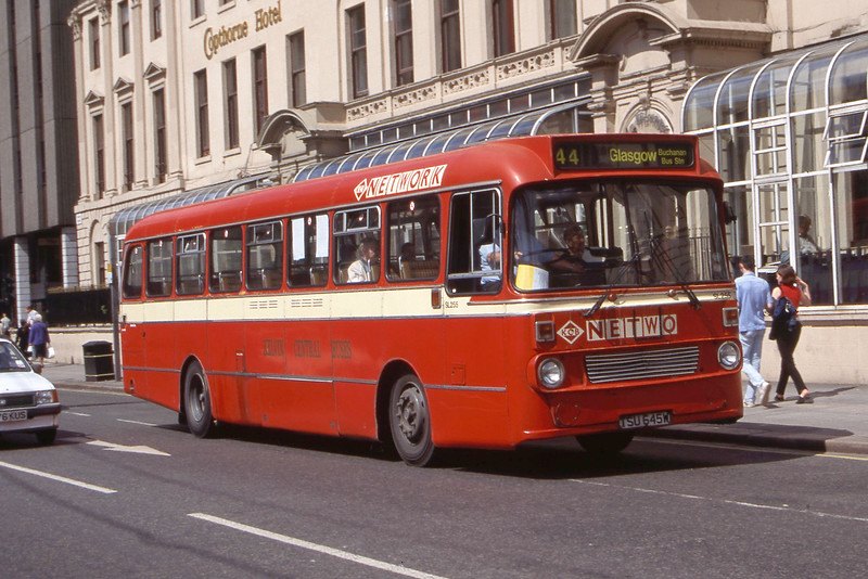KCB_First Glasgow No 2 SL255 George Square Glasgow Aug 98