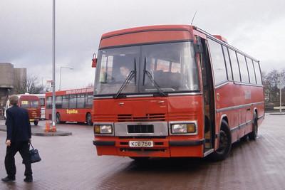 KCB CT15 East Kilbride Bus Station Feb 98
