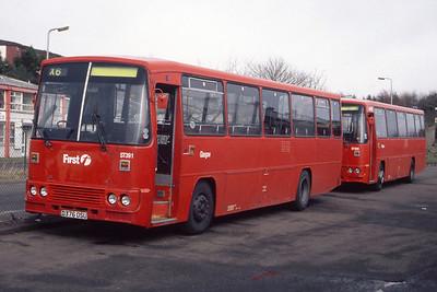 KCB_First Glasgow No 2 ST391 Cumbernauld Depot Feb 99