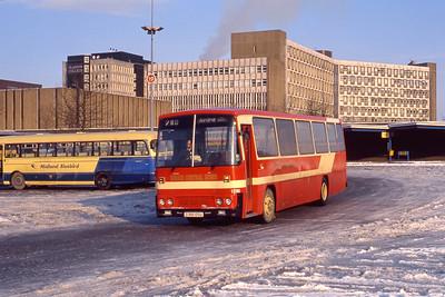 KCB 1296 Buchanan Bus Station Glasgow Feb 91