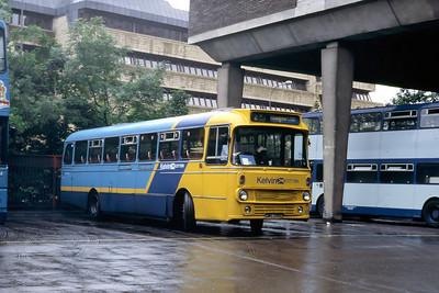 Kelvin 1020 Anderston Bus Station Glasgow Jul 87