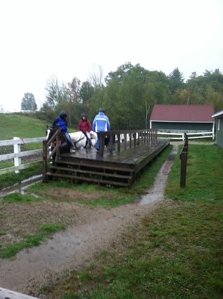 Da Girl and the Approach to Da Horse