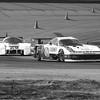 Michigan Int, Winner Lanier Trying Get St James During Race, 1984