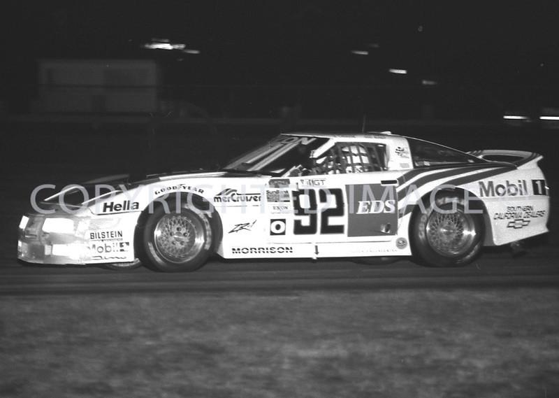 Daytona 24Hr Race, Doc Bundys Turn At Night, 1991